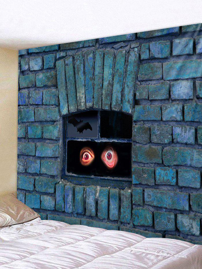 Sale Wall Hanging Art Brick Wall Eyes Print Tapestry