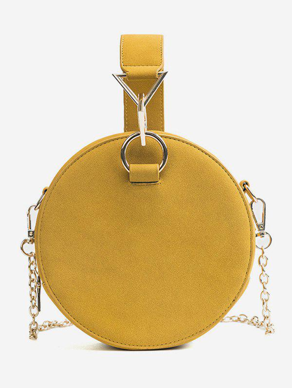 Sale Chic Round Metallic Handbag