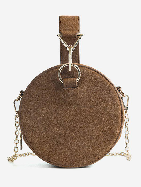 Discount Chic Round Metallic Handbag