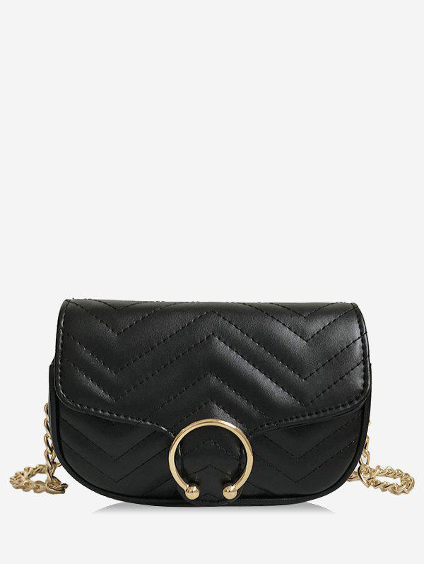 Fashion Chic Flap Stitches Chain Bag