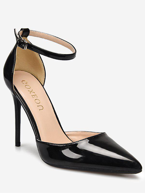 Outfits GOXEOU Pointed Toe Stiletto Heel Prom Pumps