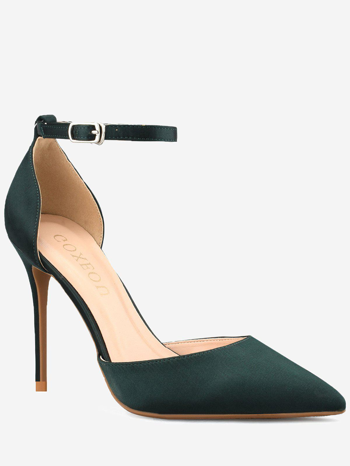 Latest GOXEOU Stiletto Heel Pointed Toe Leisure Pumps