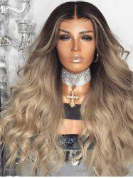 Long Ombre Wavy Synthetic Wig Party Accessory -
