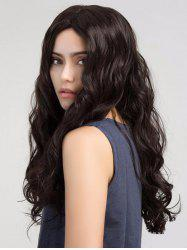 Middle Part Long Wavy Capless Synthetic Wig -