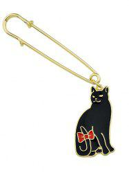 Cute Cat Pendant Brooch Pins -