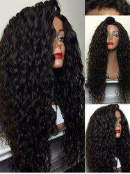 Long Side Bang Loose Curly Synthetic Wig -