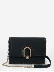 Chic Flapped Chain Going Out Sling Bag -