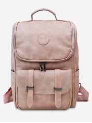 Front Flap Pocket School Backpack -