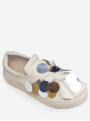 Casual Low Heel Canvas Loafers Shoes -