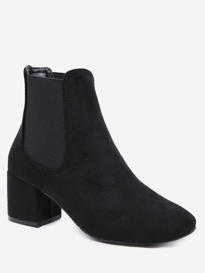 Affordable Block Heel Fashion Short Boots