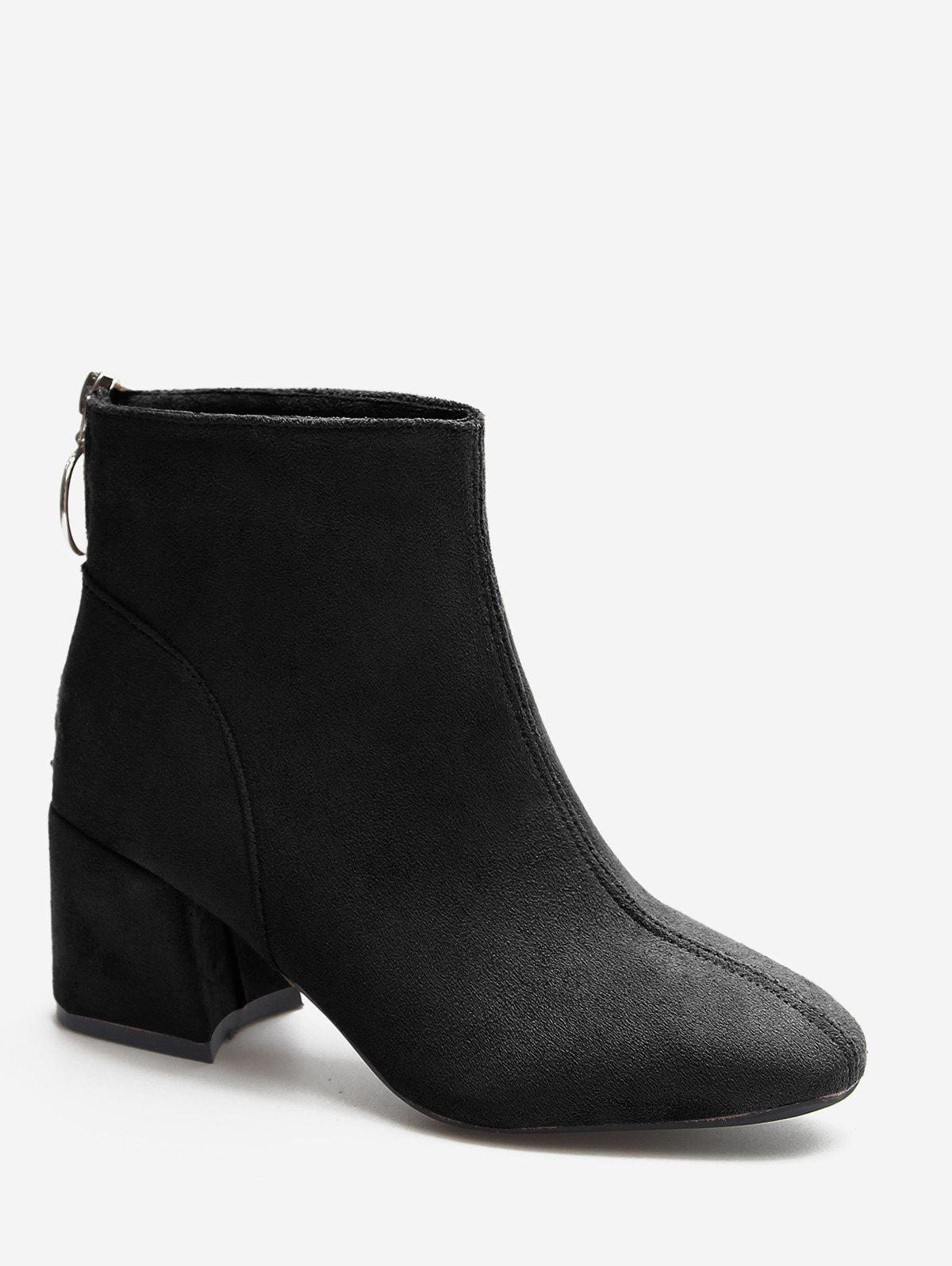 Shop Pointed Toe Block Heel Martin Boots