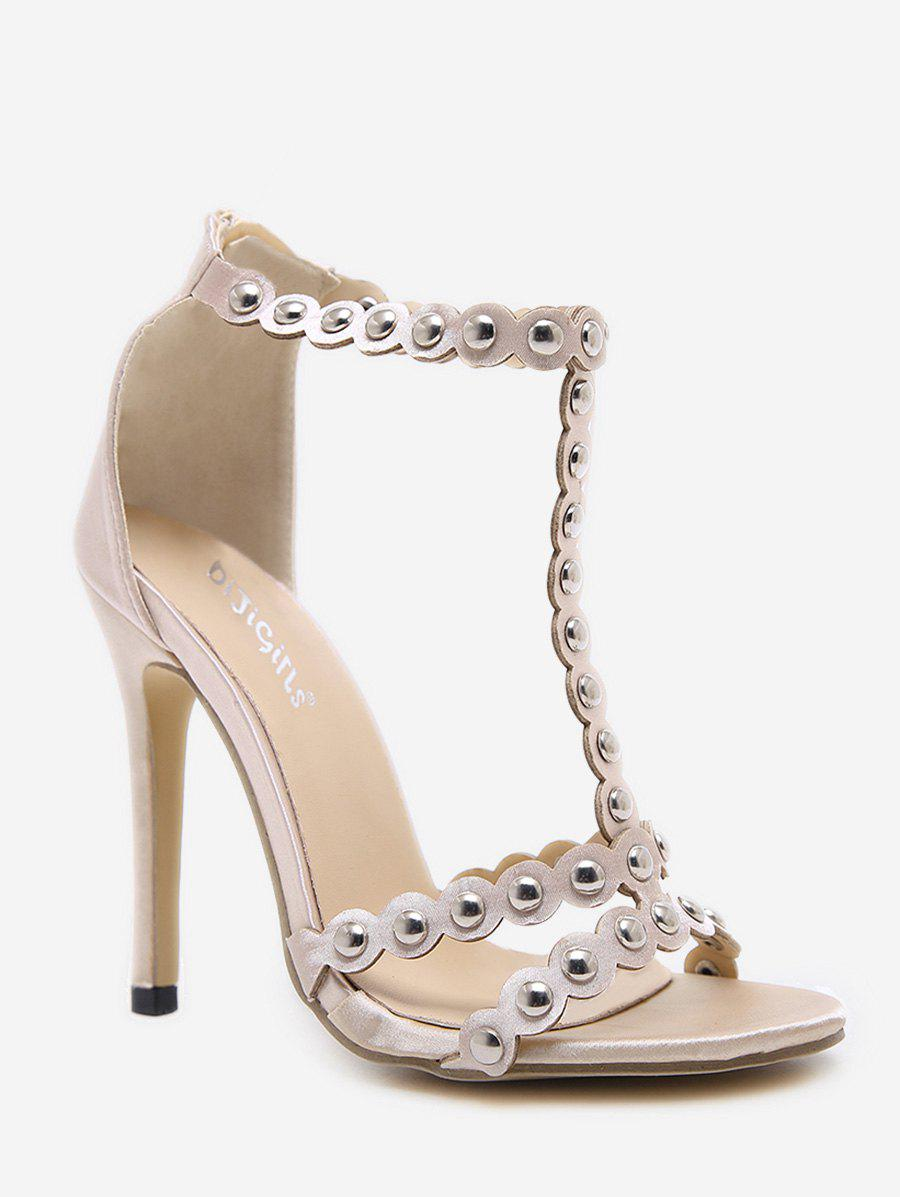 Online Studded High Heel Fashion Sandals