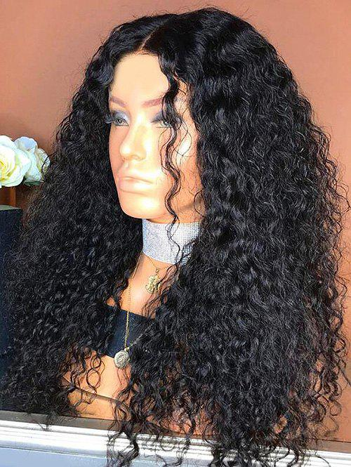 Trendy Long Center Parting Curly Synthetic Wig