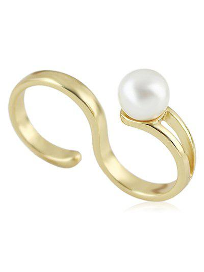 Buy Faux Pearl Decoration S Double Ring