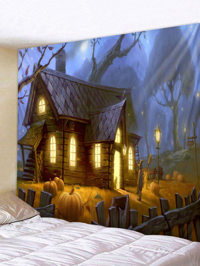 Store Wall Hanging Art Halloween House Print Tapestry
