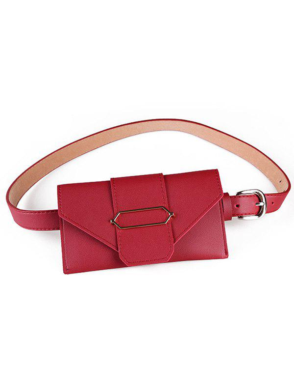 Fanny Pack Faux Leather Phone Card Сумка для ремня