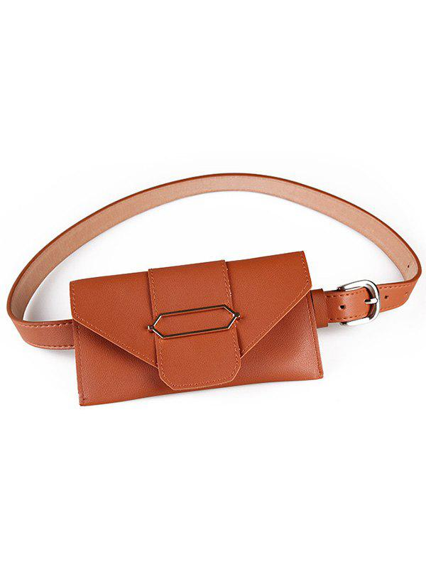 Affordable Fanny Pack Faux Leather Phone Card Belt Bag