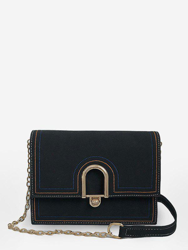 Chic Chic Flapped Chain Going Out Sling Bag