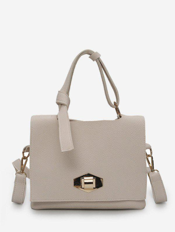 Sale Minimalist Faux Leather Leisure Handbag