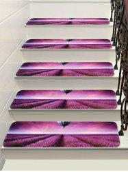 Lavender Hot Air Balloon Decorative Stair Floor Rugs -
