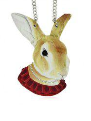 Rabbit Design Pendant Necklace -