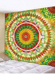 Wall Hanging Art Colorful Mandala Print Tapestry -