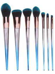 Rhombus Handles Extra Soft Silky Cosmetic Brush Set -