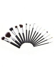 Professional 10Pcs Soften Silky Cosmetic Brush Set -