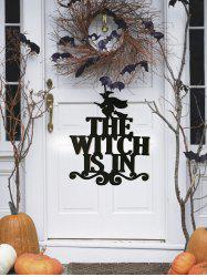 Halloween Witch Wall Hanging Decoration -