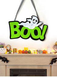 Halloween Boo Ghost Wall Hanging Decoration -