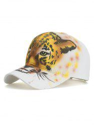 Painting Tiger Adjustable Graphic Hat -