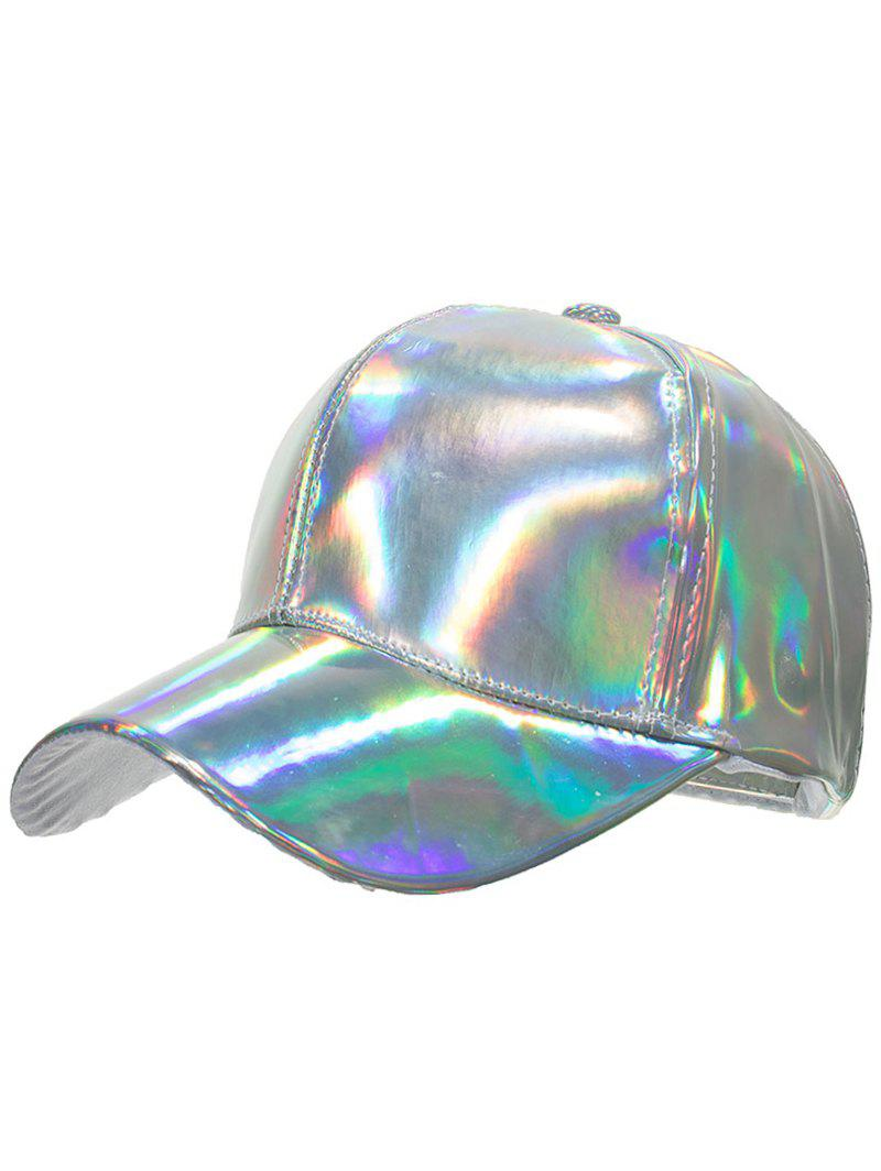 Hot Novelty Shiny Glazed Baseball Cap