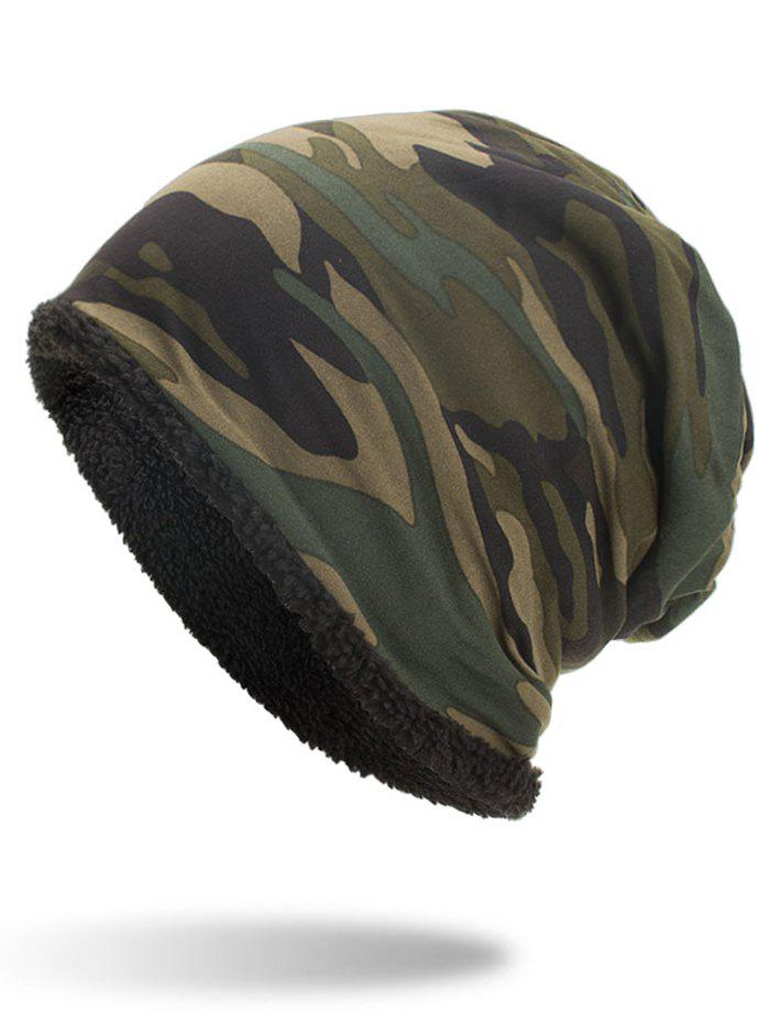 Shops Winter Camouflage Printed Thicken Beanie