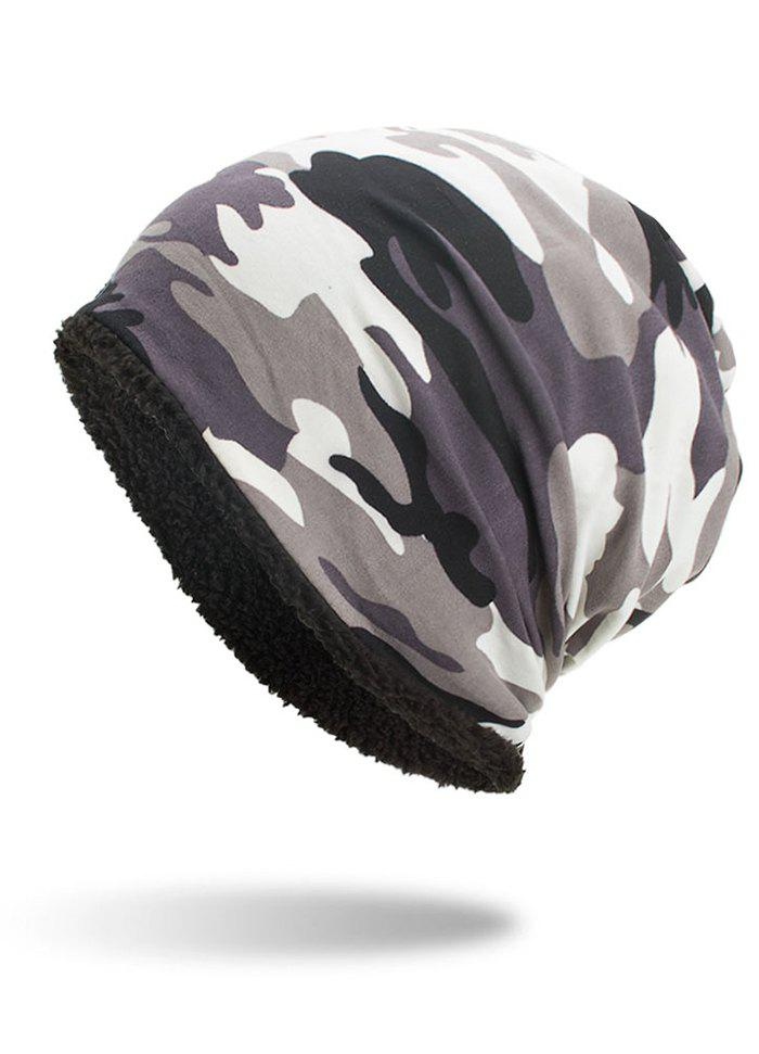Latest Winter Camouflage Printed Thicken Beanie