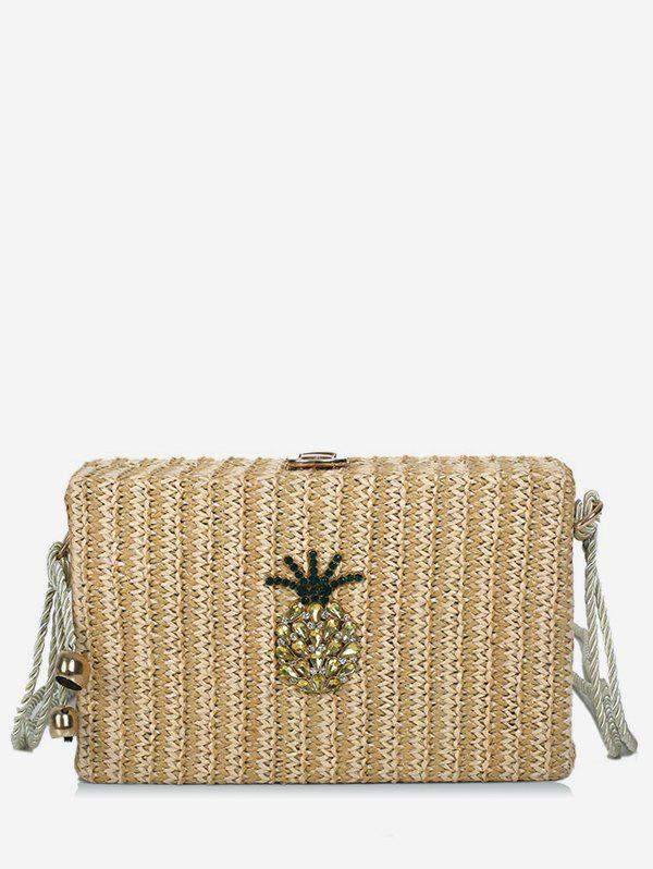 Shop Vacation Rope Strap Pineapple Crossbody Bag