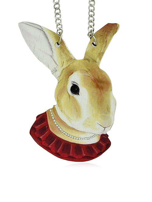 Fashion Rabbit Design Pendant Necklace