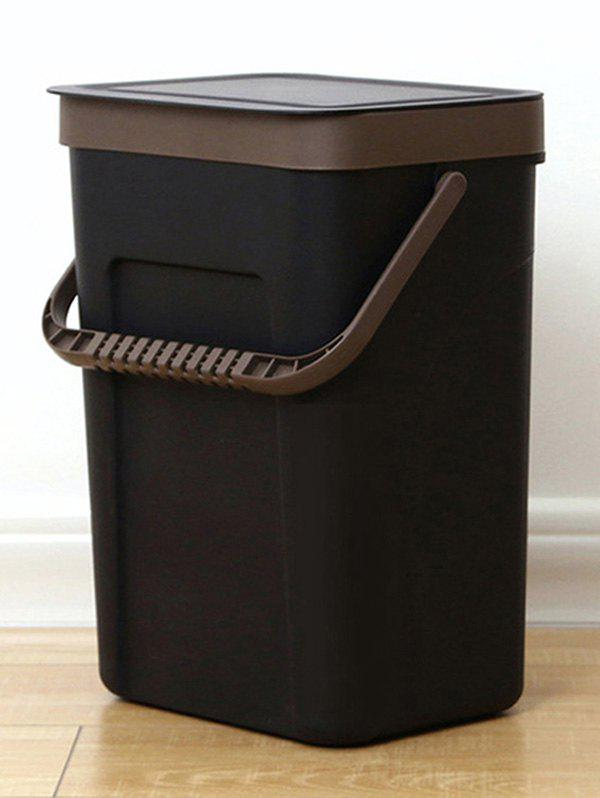 Store Wall-mounted Lidded Garbage Can