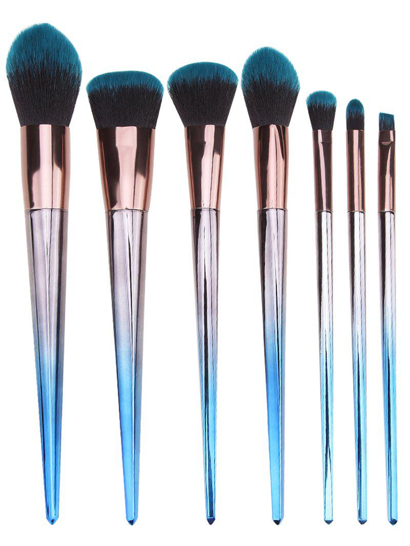 Buy Rhombus Handles Extra Soft Silky Cosmetic Brush Set