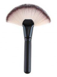Ultra Soft Synthetic Fiber Hair Large Fan Brush -