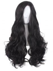 Long Side Parting Wavy Synthetic Cosplay Wig -