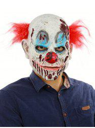 Blood Clown Head Mask Halloween Party Accessories -