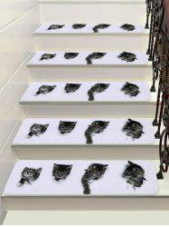3D Cat Decorative Stair Floor Rugs -