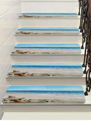 Beach Starfish Conch Decorative Stair Floor Rugs -