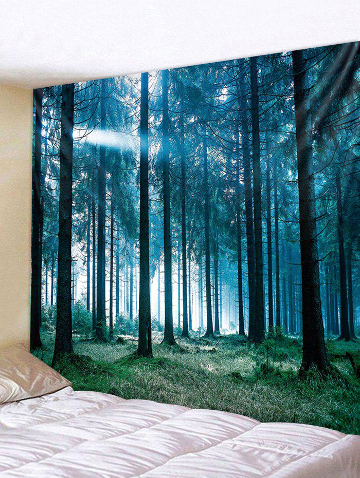 86e7d8650b 55% OFF  Wall Hanging Art Sunlit Forest Print Tapestry