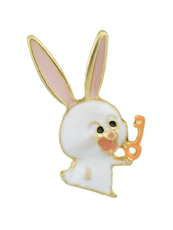 Broche Lapin et Ours en Email
