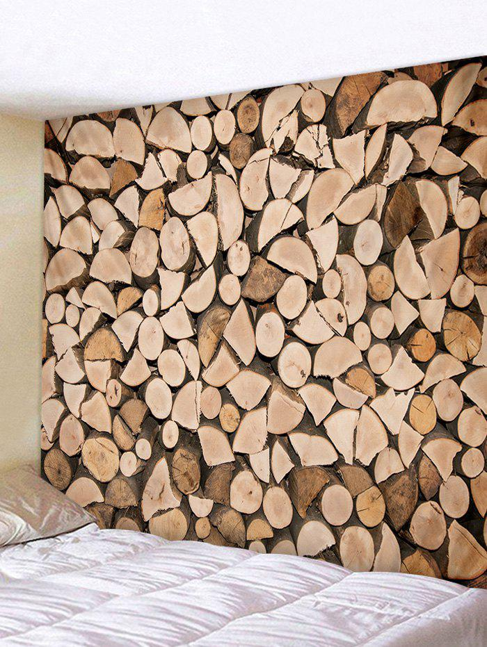 Fancy Wall Hanging Art Firewood Print Tapestry