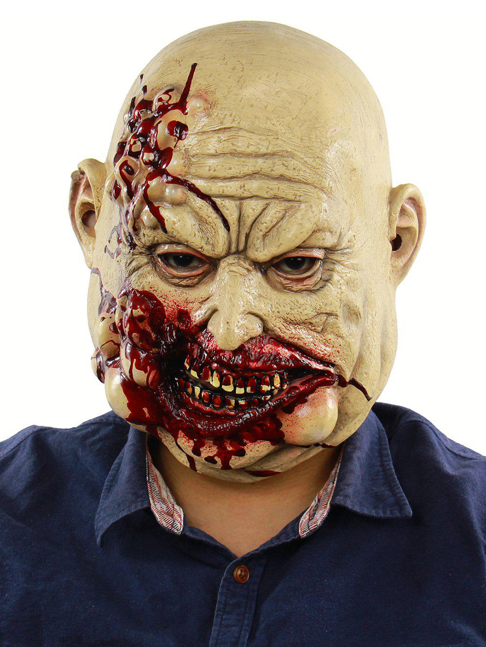 Sale Blood Butcher Head Mask Halloween Party Accessories