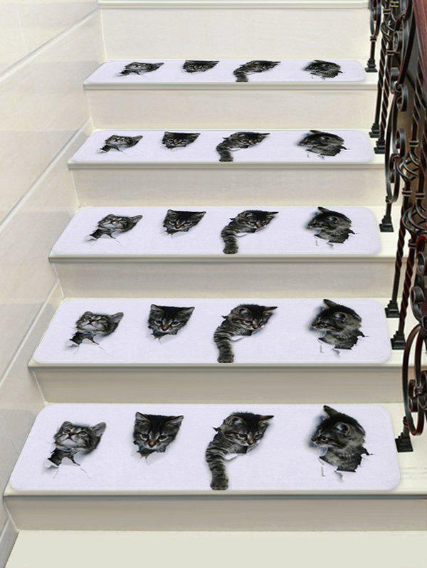 Shops 3D Cat Decorative Stair Floor Rugs