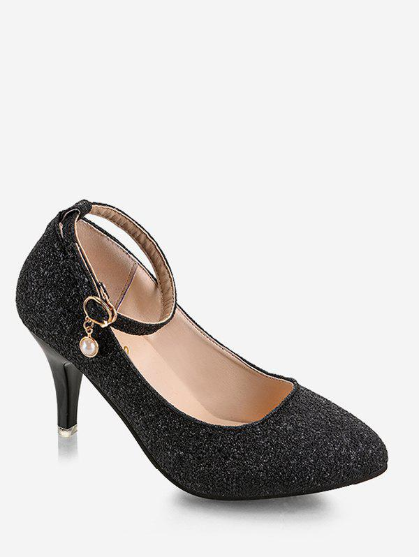 Unique Plus Size Stiletto Heel Glitters Pumps