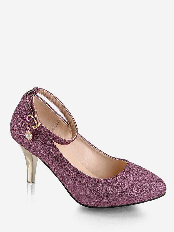 Best Plus Size Stiletto Heel Glitters Pumps